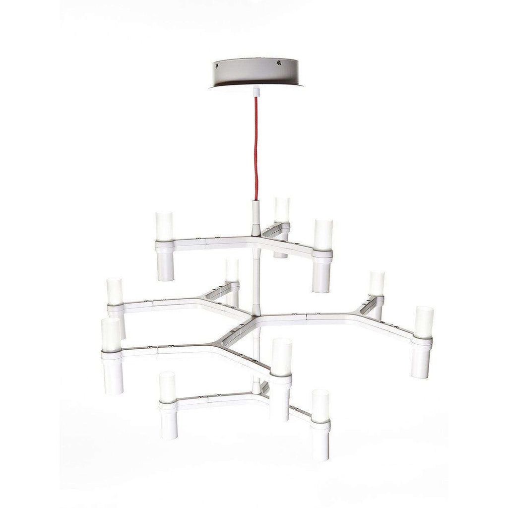 Mid-Century Modern Reproduction Crown Minor Chandelier Inspired by Jehs and Laub