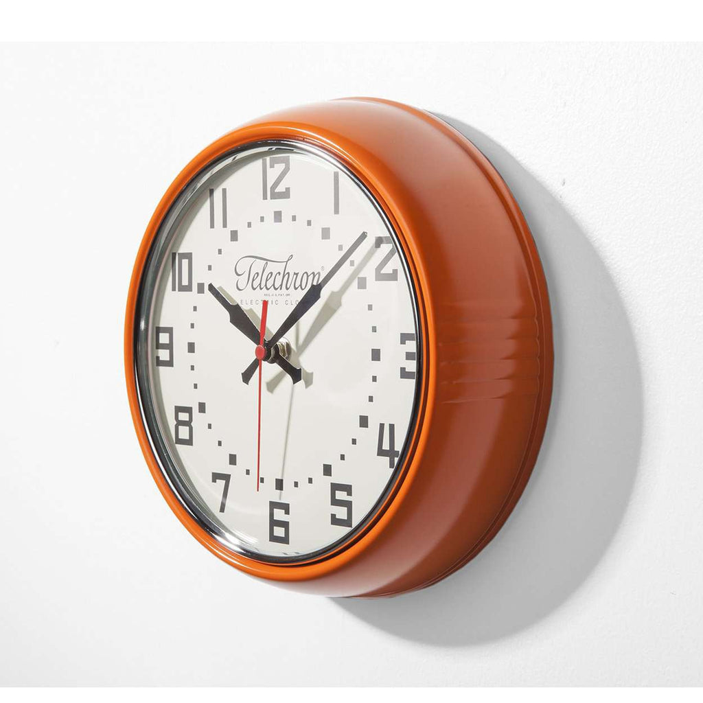 Albert Wall Clock - Orange