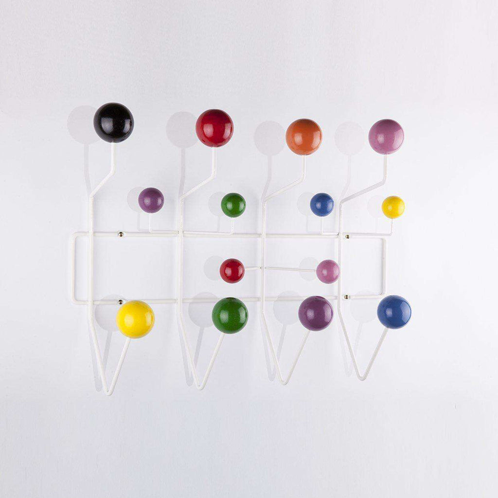 Mid-Century Modern Reproduction Hang It All Coat Rack - Color Inspired by Charles and Ray E.