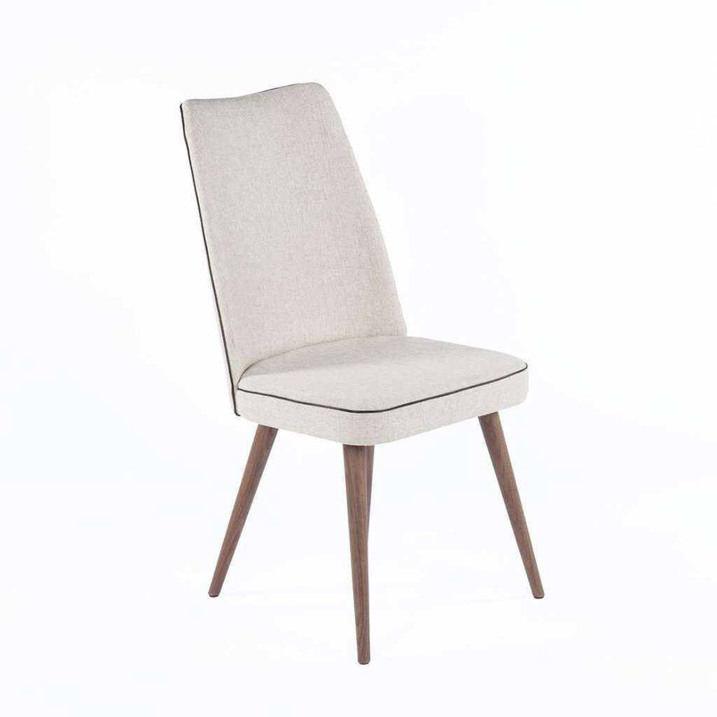 Modern Beagan Dining Side Chair - Beige