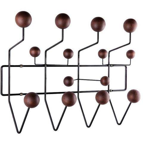 Mid-Century Modern Reproduction Hang It All Coat Rack - Walnut Inspired by Charles and Ray E.