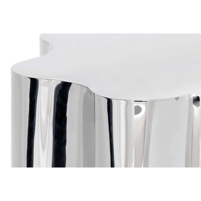 DAHLIA SIDE TABLE - STAINLESS STEEL