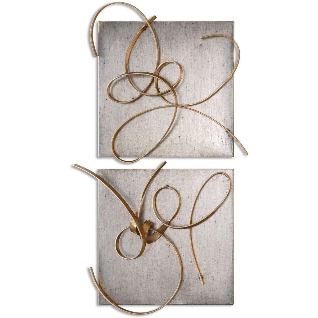 Uttermost Harmony Metal Wall Art, S/2