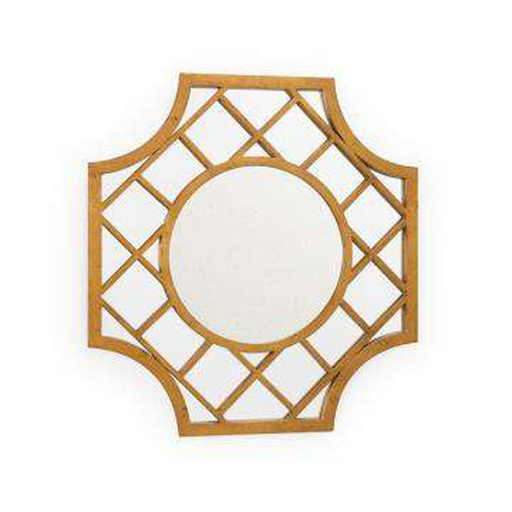 Lattice Mirror - Gold
