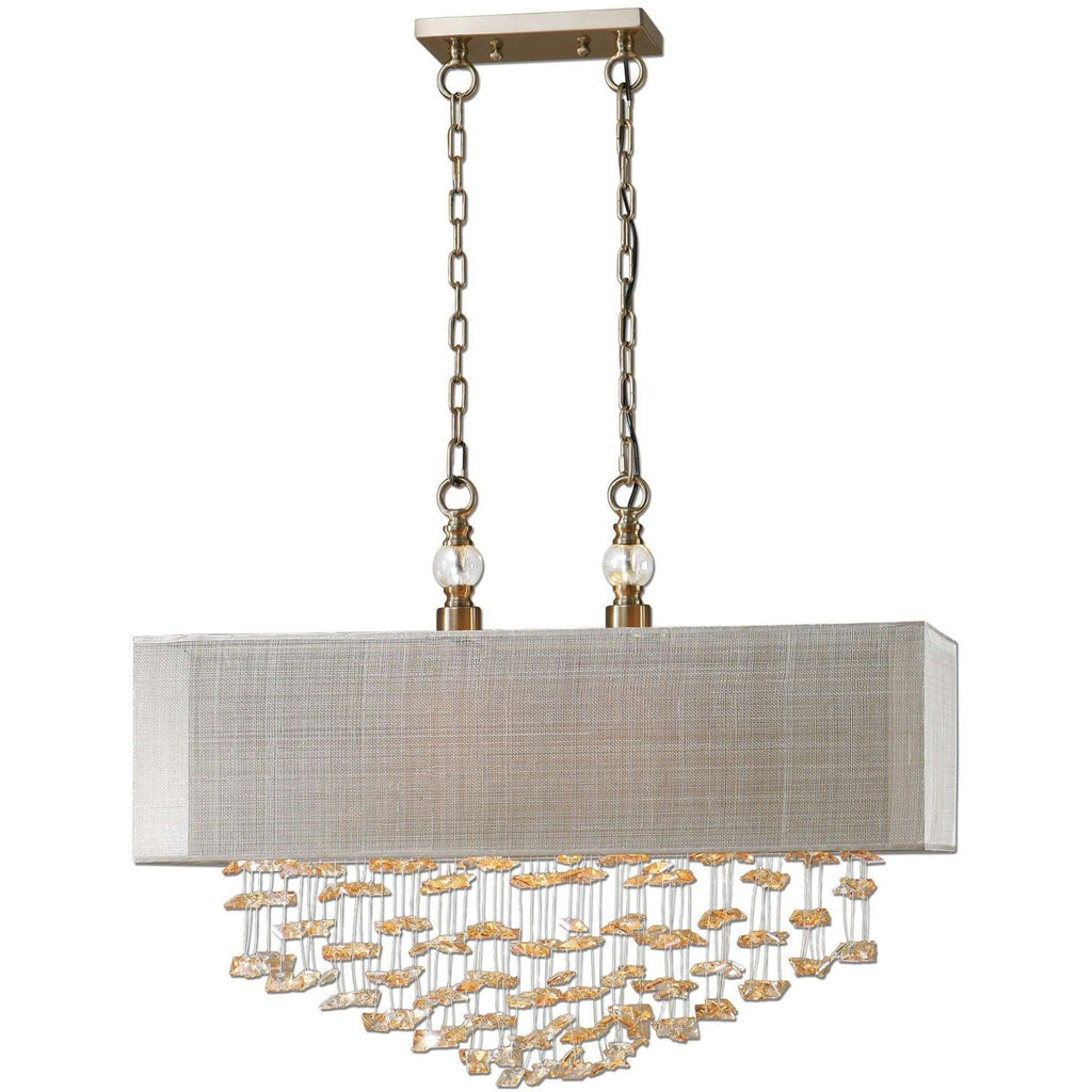 Uttermost Santina 2 Light Shade Pendant