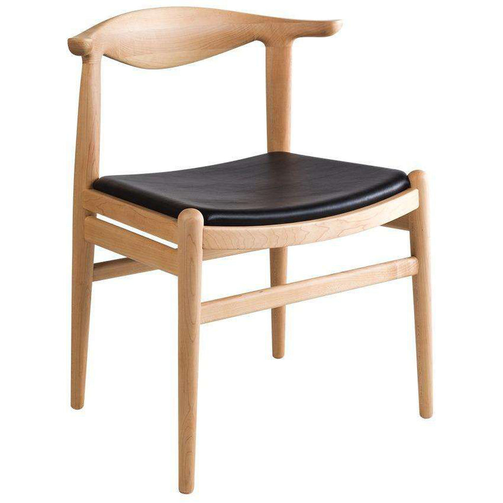 Wegner PP505 Cowhorn Dining Side Chair