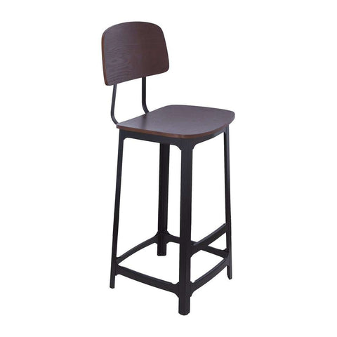 2 x Garrison Bar Stool - Black *free local shipping only*