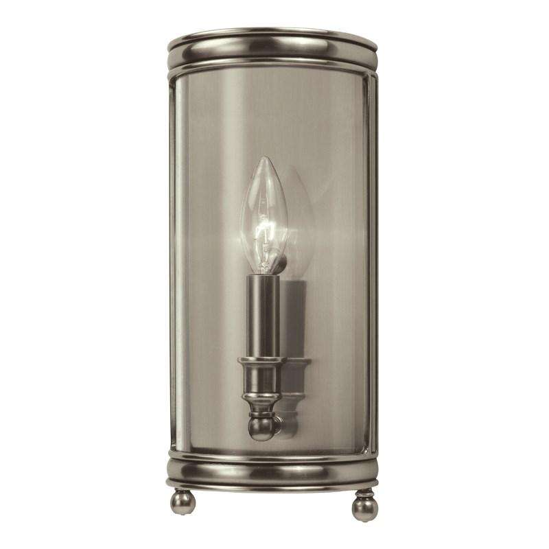 Larchmont 1 Light Wall Sconce Historic Nickel