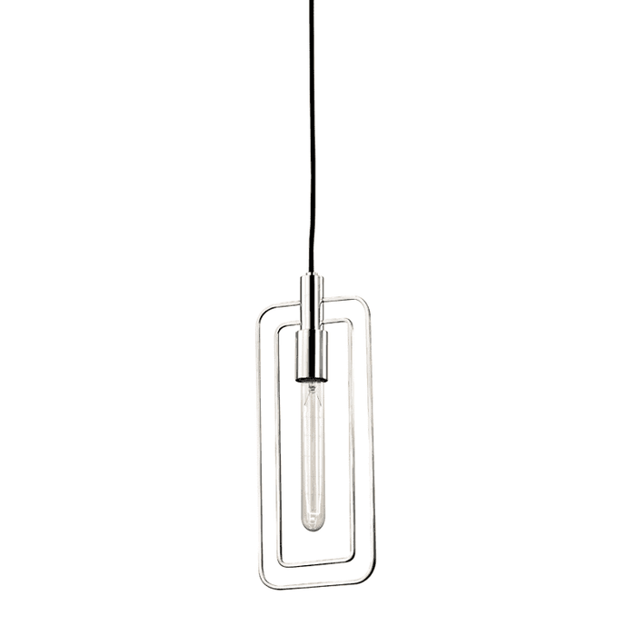 Masonville 1 Light Pendant Polished Nickel