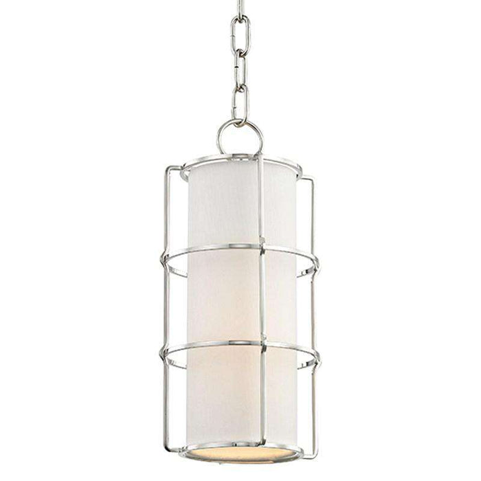 Sovereign 1 Light Pendant Polished Nickel