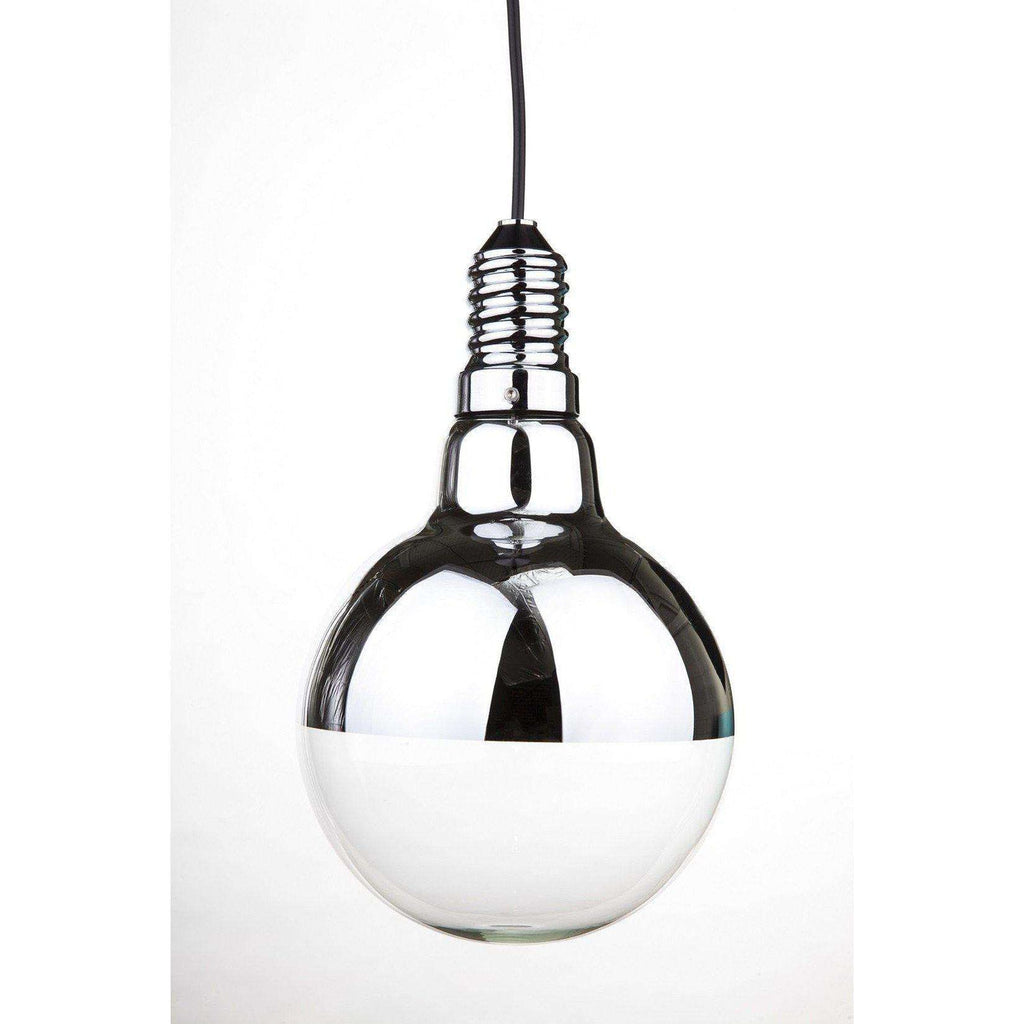 Mid-Century Modern Reproduction Lampadina 2 Pendant Light Inspired by Achille Castiglioni