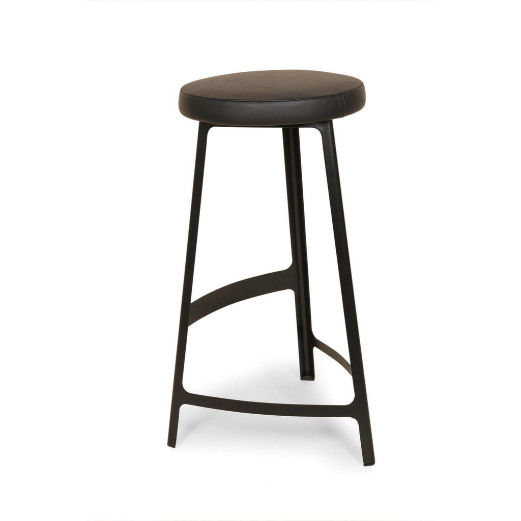 Mid-Century Modern Reproduction Trio Factory Barstool - Black Inspired by Sean Dix