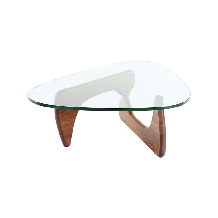 Mid Century Triangle Coffee Table - Small