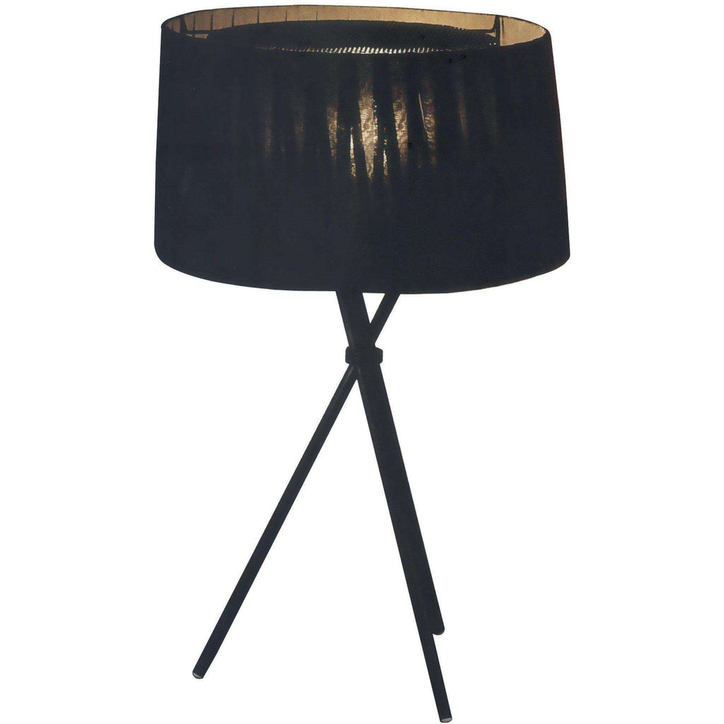 Mid-Century Modern Reproduction Tripode G6 Table Lamp - Black Inspired by Santa and Cole