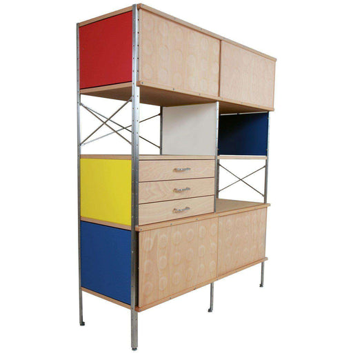 Mid-Century Modern Reproduction Mid Century Storage Unit 420 Inspired by Charles and Ray E.