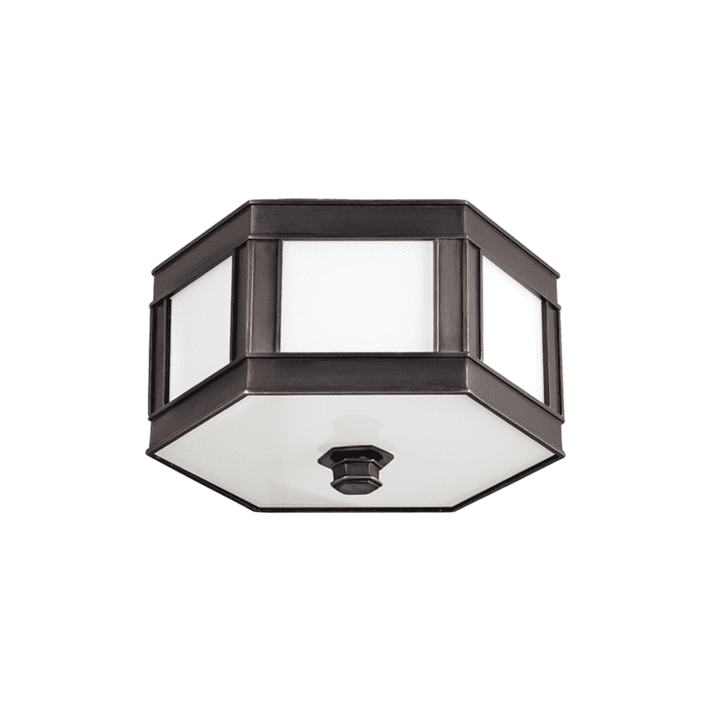 Nassau 1 Light Flush Mount Old Bronze