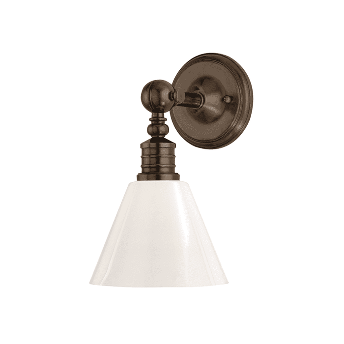 Darien 1 Light Wall Sconce Distressed Bronze