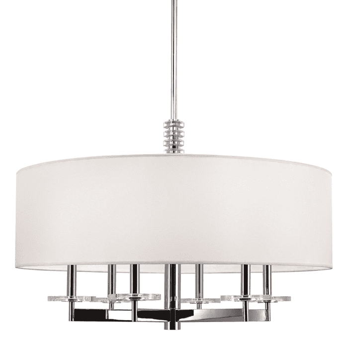 Chelsea 6 Light Chandelier Polished Nickel