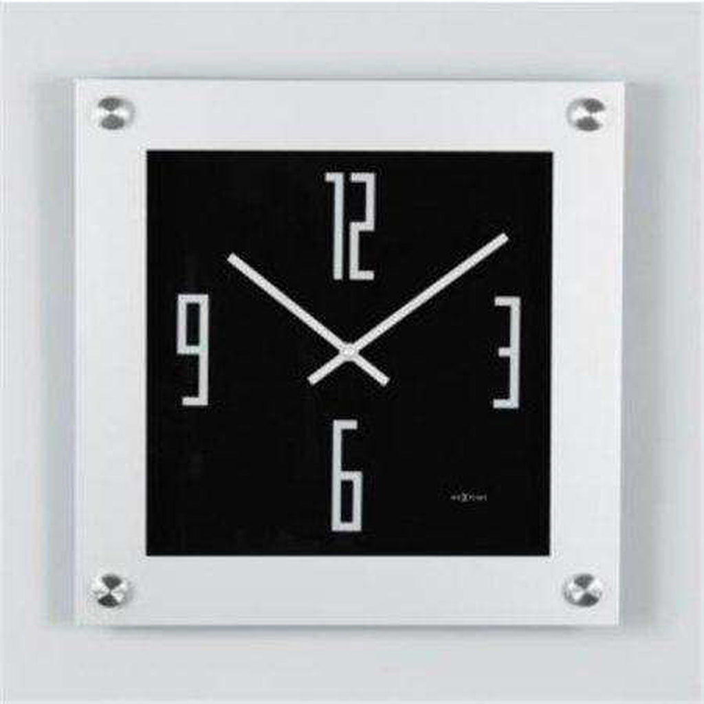 Steel Wall Clock by Nextime  [50gift]