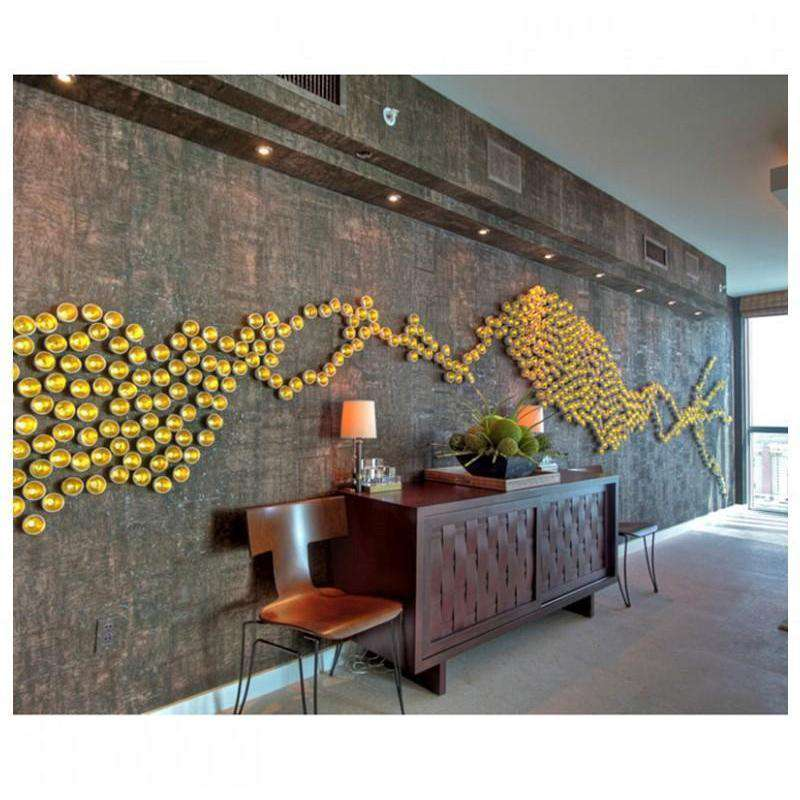 Seed Wall Play - Gold- Set Of 20