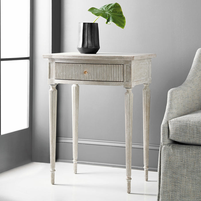Ribbed Nightstand