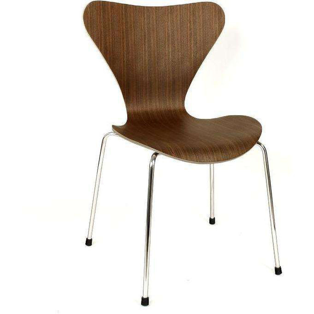 Mid Century Modern Reproduction Series 7 Side Chair Inspired By Arne  Jacobsen