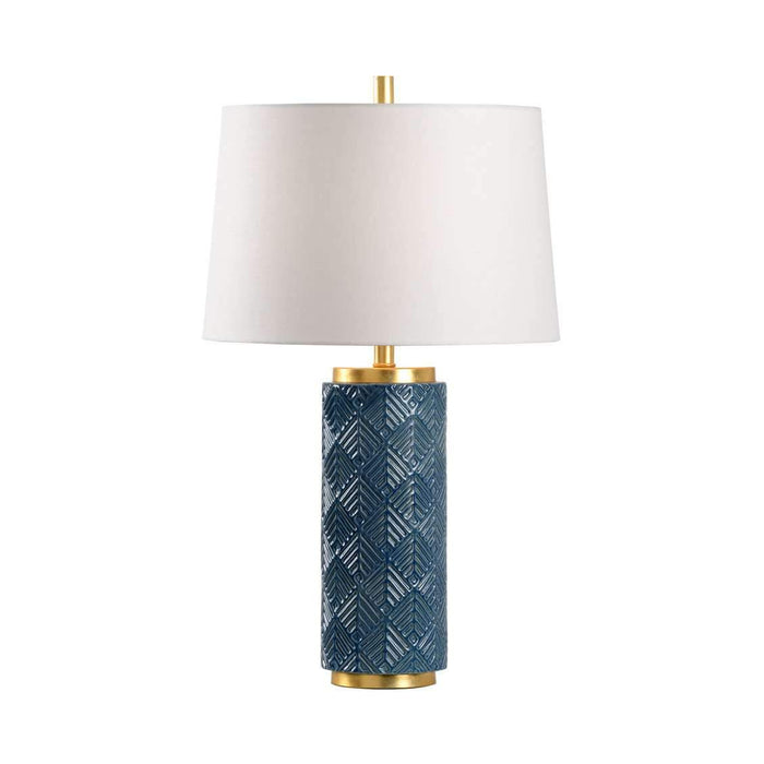 Mountain Pine Lamp - Denim