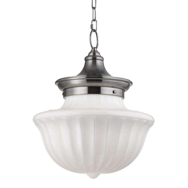 Dutchess 2 Light Large Pendant Satin Nickel