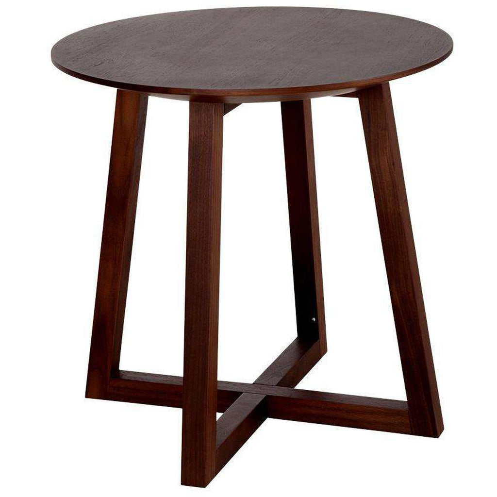 Circle Cross Side Table