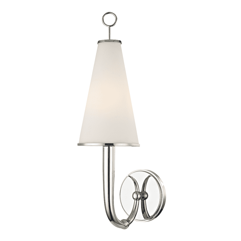 Colden 1 Light Wall Sconce Polished Nickel