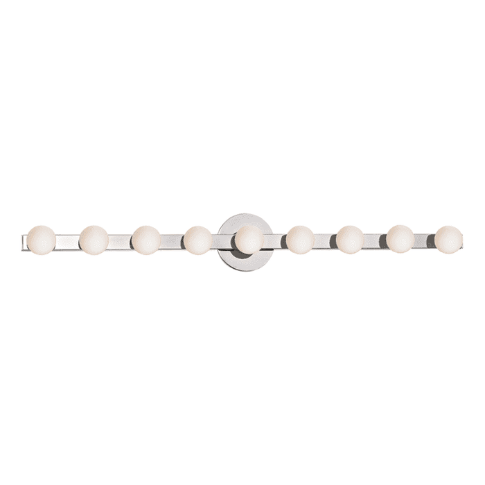 Taft 9  Light Wall Sconce Polished Chrome