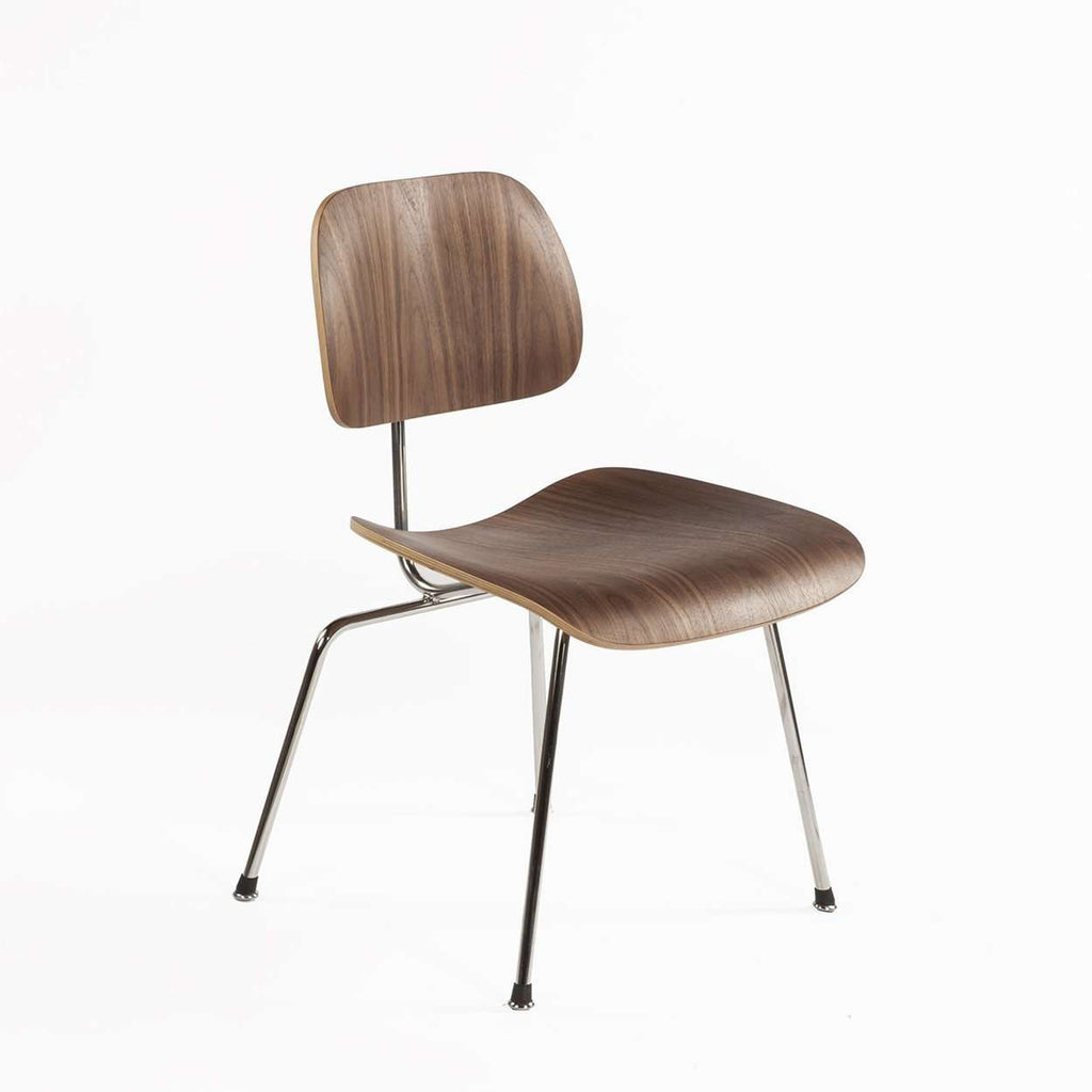 Mid-Century Modern Reproduction DCM Dining Chair - Walnut Inspired by Charles and Ray E.