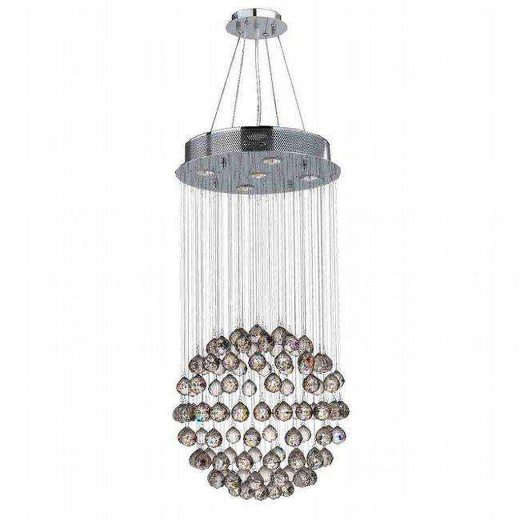 Wwlighting w83207c16 worldwide lighting saturn 5 light chrome wwlighting w83207c16 worldwide lighting saturn 5 light chrome finish crystal galaxy chandelier aloadofball Choice Image