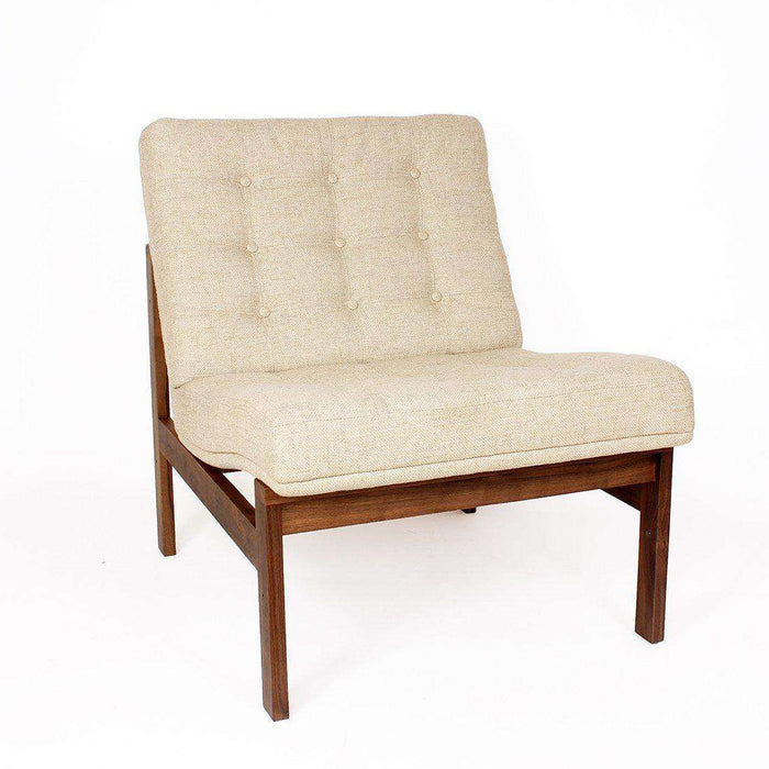 Mid-Century Modern Reproduction Moduline Sofa - Beige Inspired by Ole Gjerlov-Knudsen and Torben Lind
