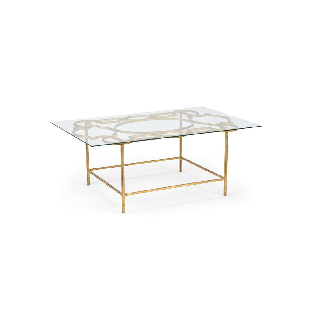 TRACERY COCKTAIL TABLE - GOLD