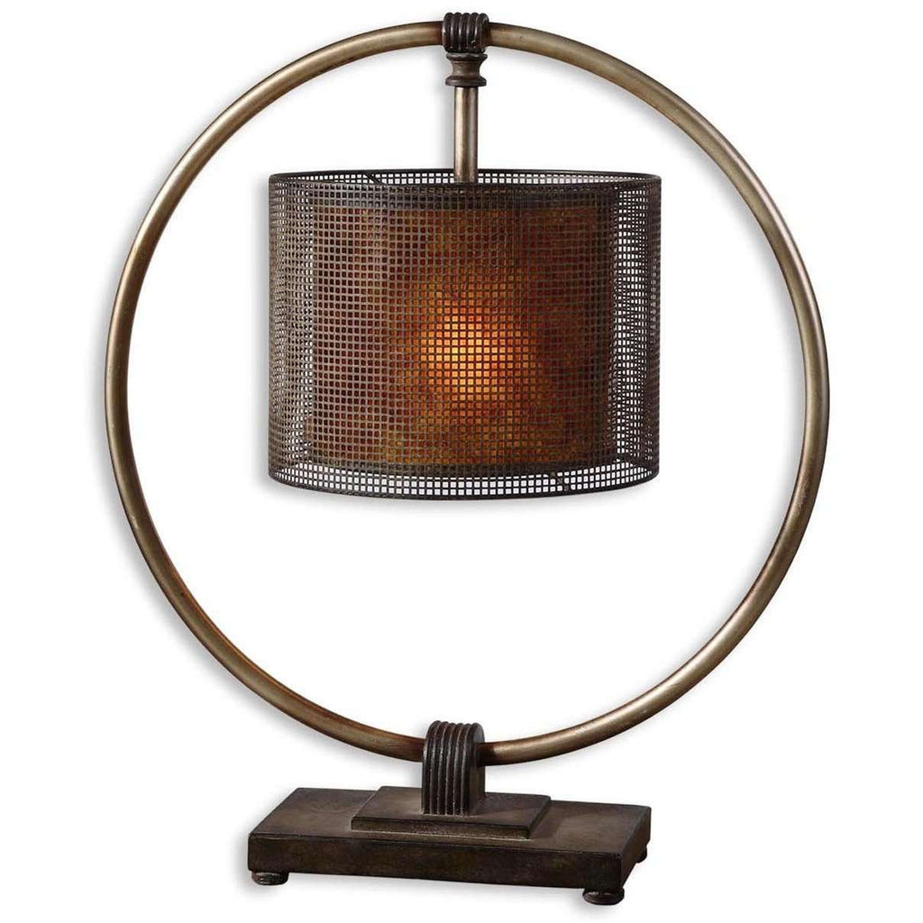 Uttermost Dalou Hanging Shade Table Lamp