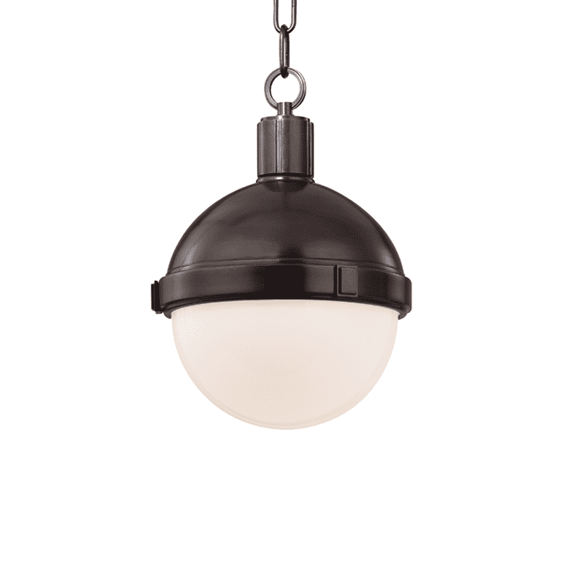 Lambert 1 Light Pendant Old Bronze
