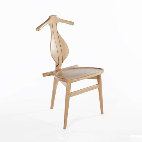 Mid-Century Modern Reproduction PP250 Valet Chair - Beech Wood Inspired by Hans Wegner