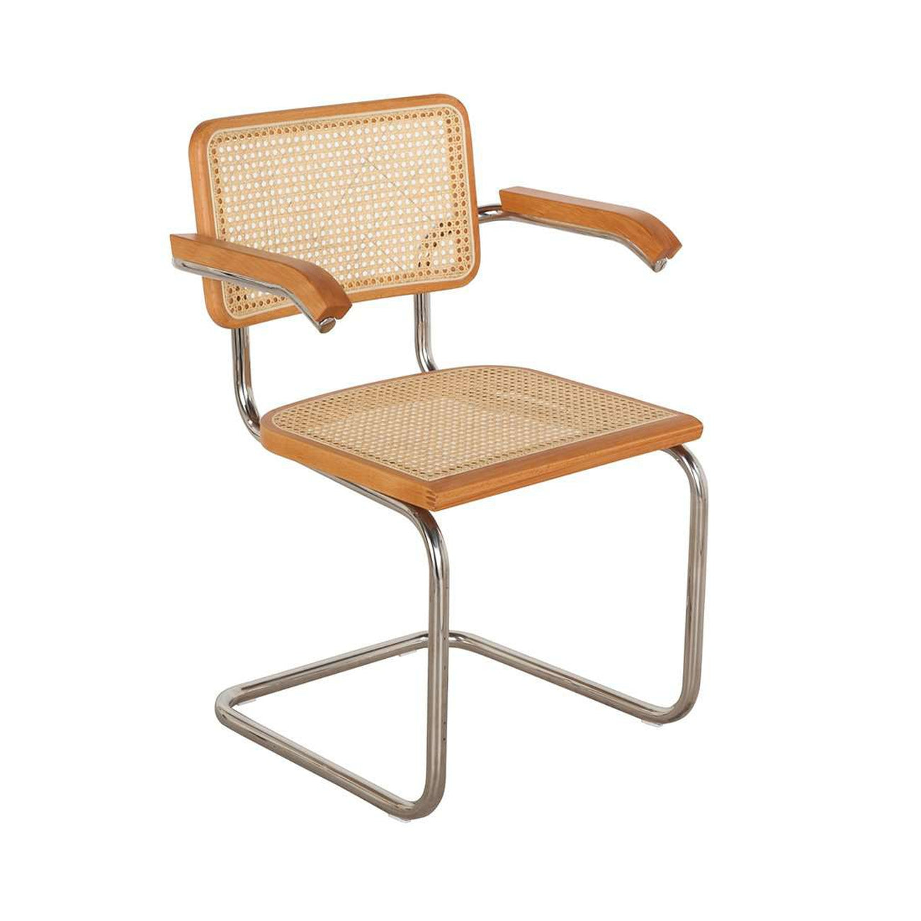 Top Cesca Chair with Arms — France & Son BV26