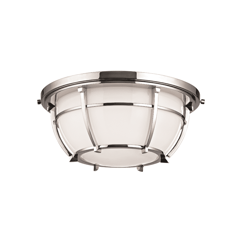 Conrad 2 Light Flush Mount Polished Nickel