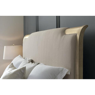 Nite In Shining Armor Gold Frame Upholstered Bed