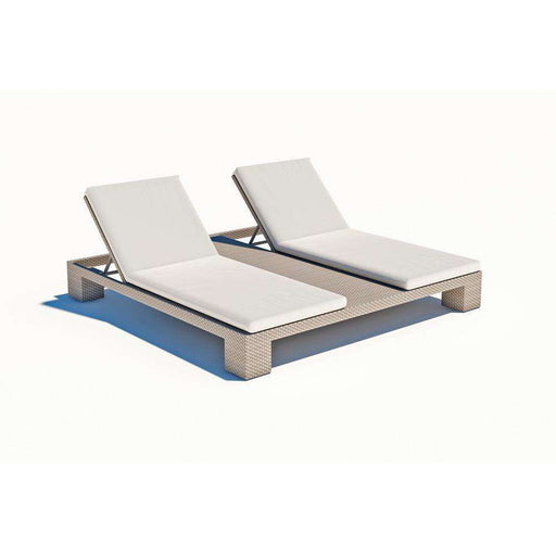 Pacific Double Chaise Lounge by Skyline Design