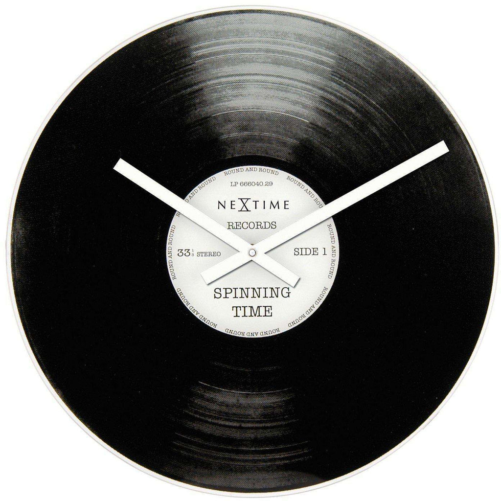 Spinning Time Wall Clock by NeXtime