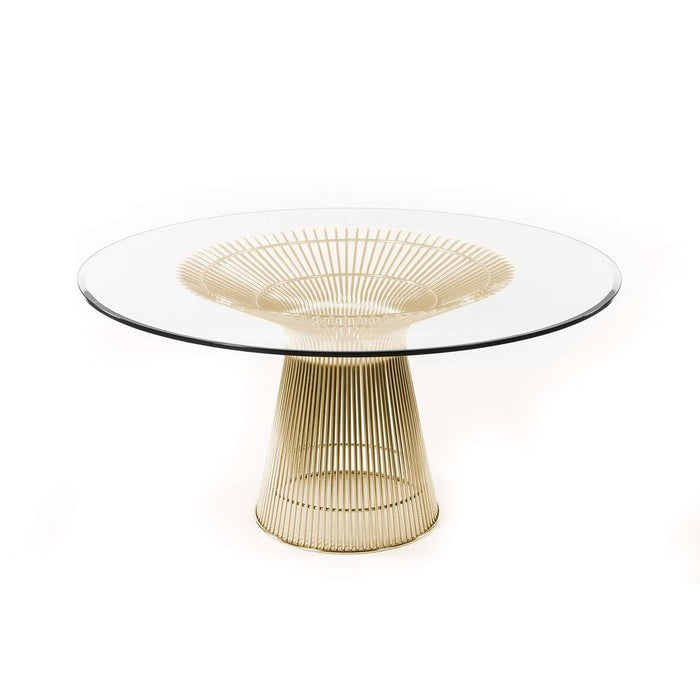 Platner Dining Table - Gold 54""