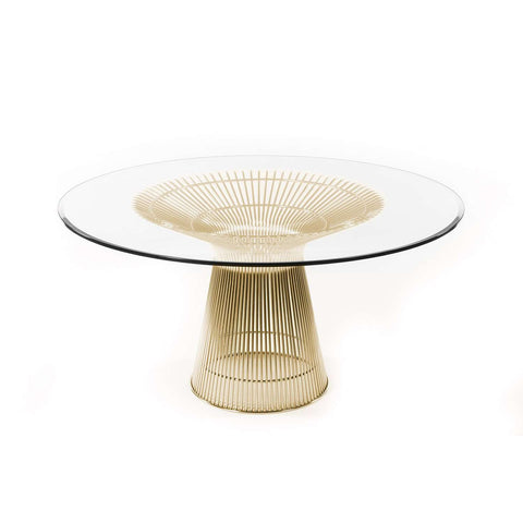 Platner Dining Table - Gold [New Product] free shipping