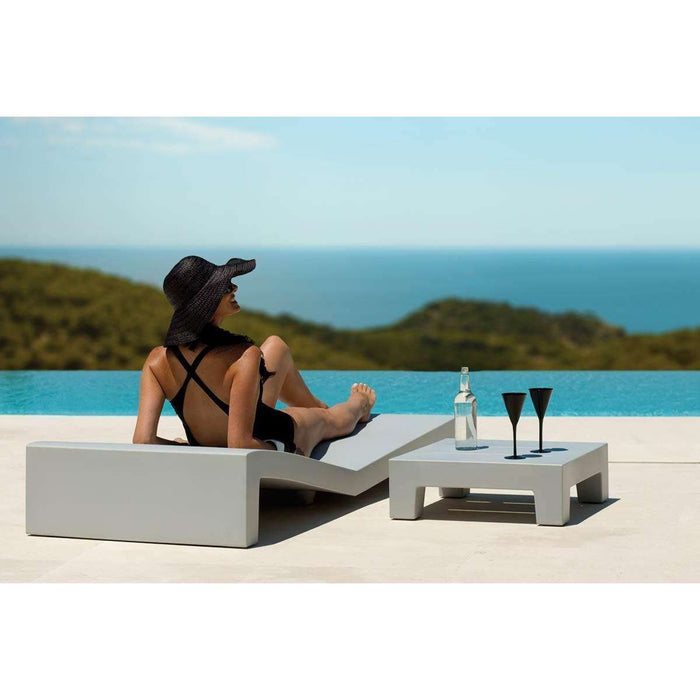 Jut Sun Chaise By Vondom