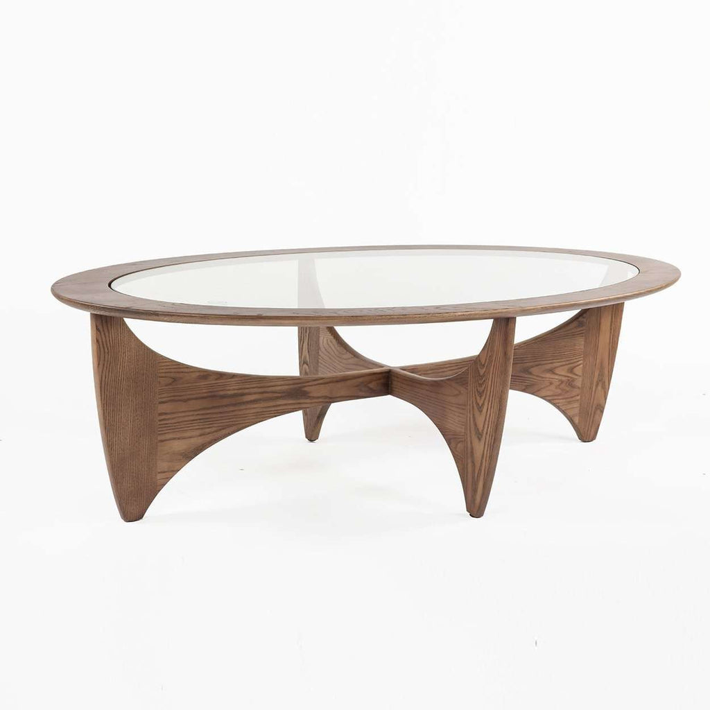 Mid-Century Modern Adair Cocktail Table - Large