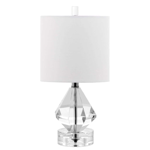 "15"" Diamond Accent Crystal Lamp"