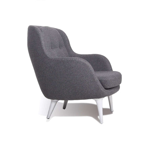 Hayon Lounge Chair - Dark Grey