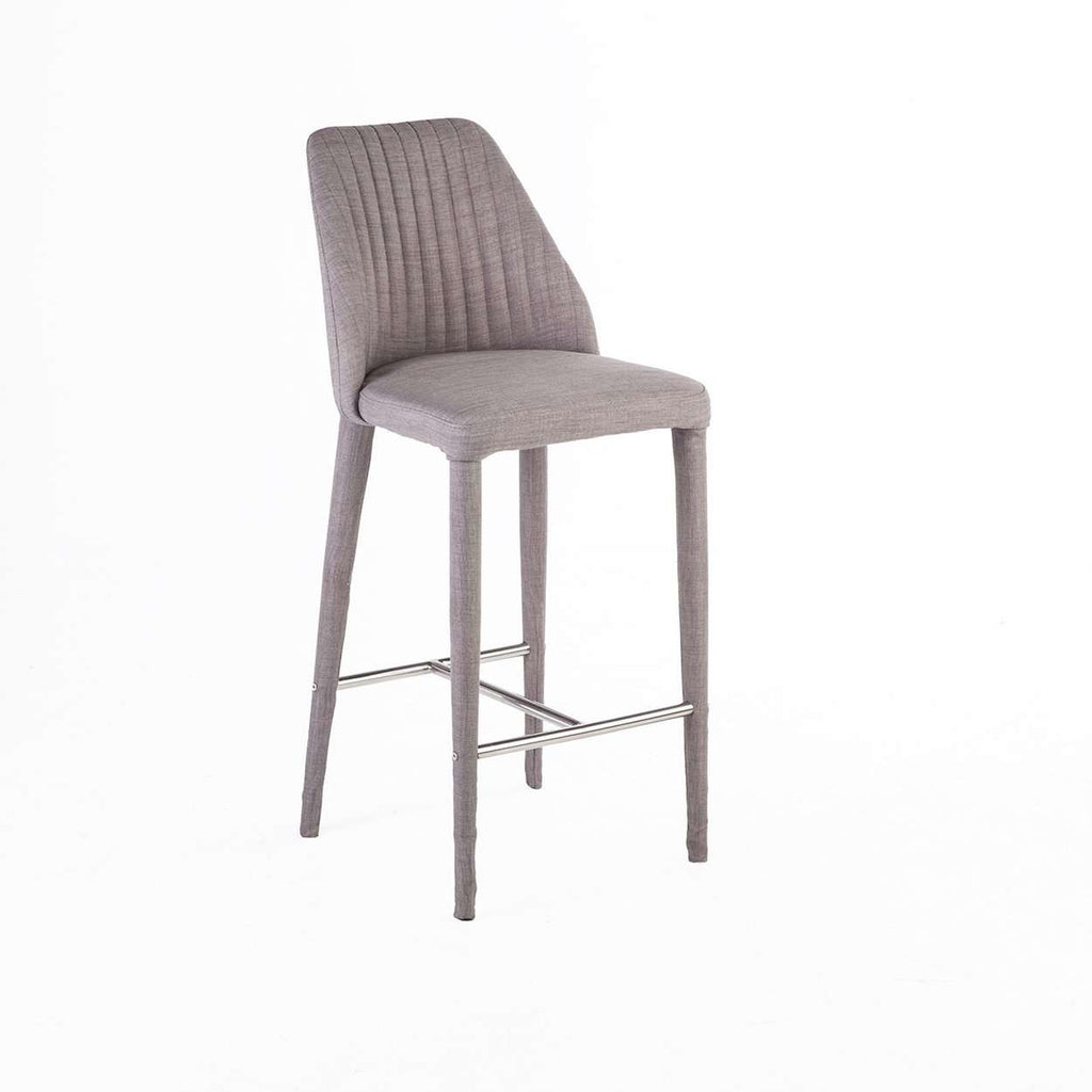 Modern Electra Ribbed Counter Stool